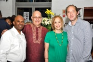 With Kaymarlin Govender, Prof Cheryl Potgeiter and Samuel Gormley